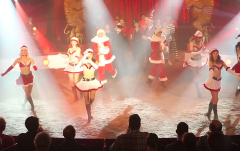 "Europa-Park Daily Show ""Winter Circus Revue"" 2015"